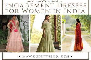 Women Indian Engagement dress