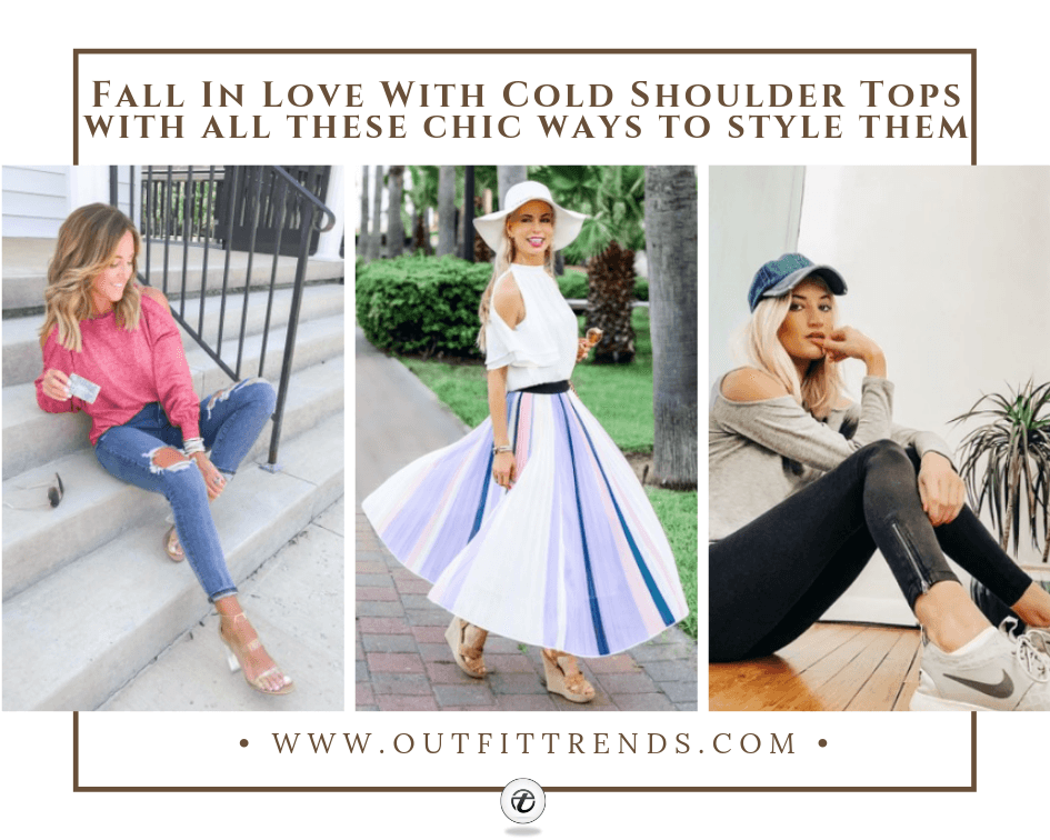 how to wear cold shoulder tops