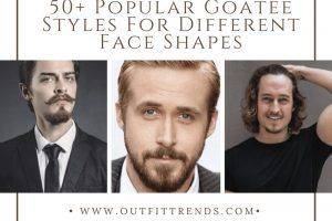 goatee style for face shape