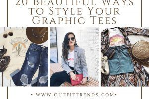 how to wear graphic tee for girls