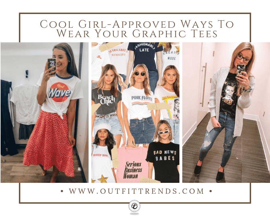 outfits to wear with graphic tees