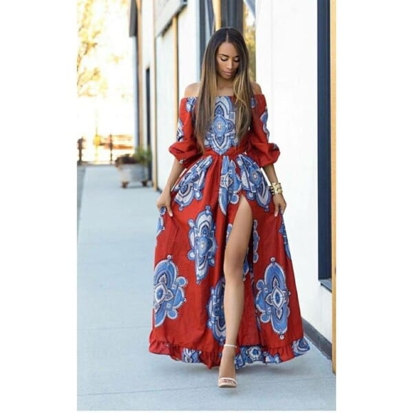 27 Kitenge Designs For Long Dresses (19)