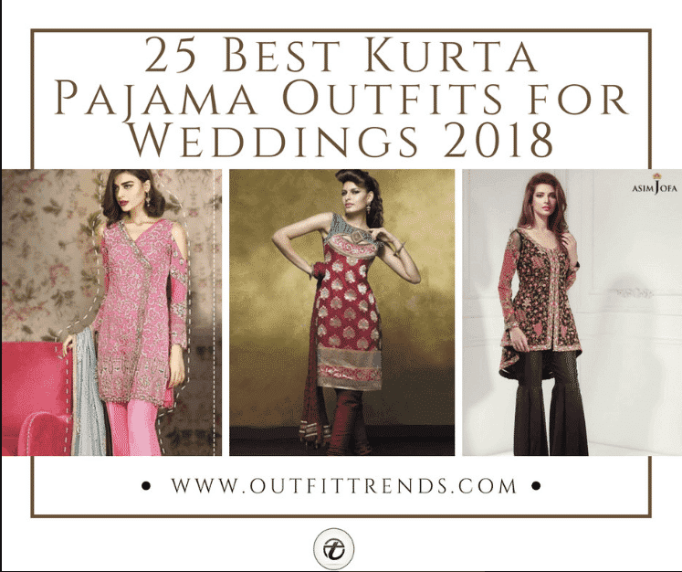 Kurta Pajama Wedding Outfit