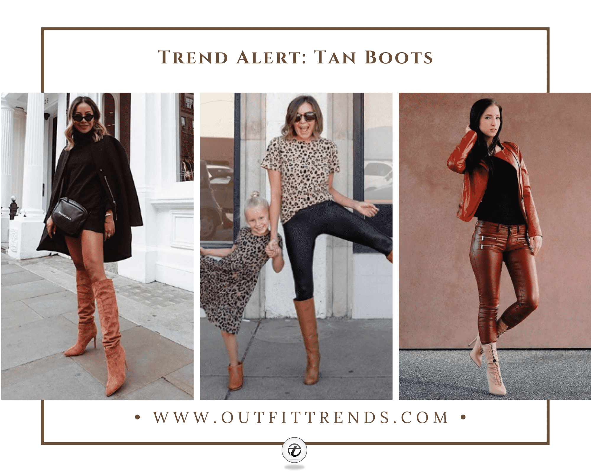 Girls Outfits with Tan Boots 30 Ideas How to Wear Tan Shoes