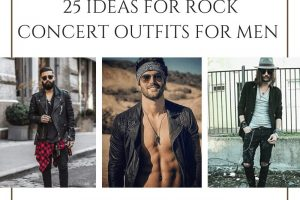 ROCK CONCERT OUTFITS FOR MEN