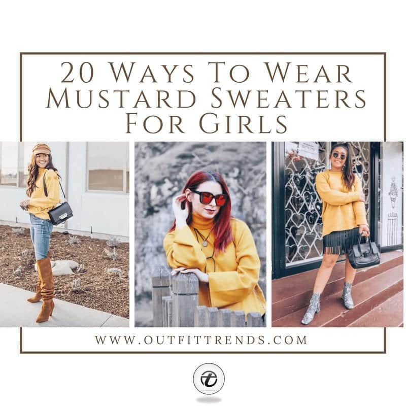 20 Best Outfits with Mustard Sweaters for Women