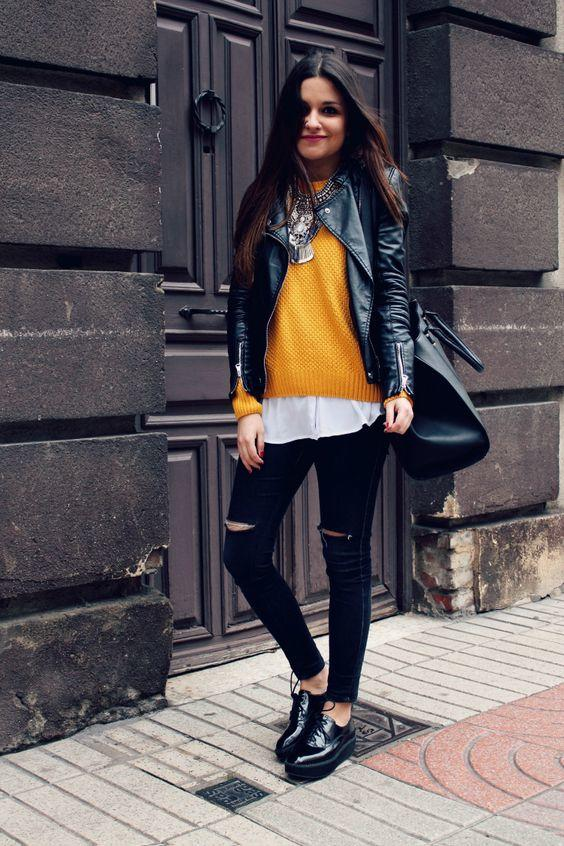 20 Best Outfits With Mustard Sweaters For Women In 2019