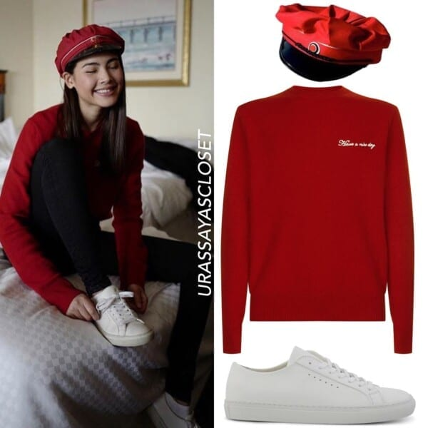 Outfits with White Sneaker for Women (5)