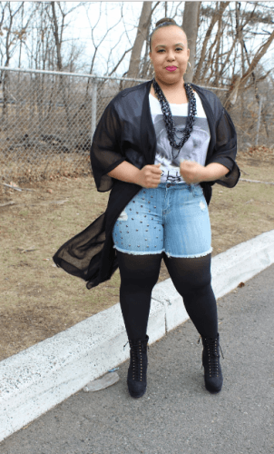 33a544165f1 How to Wear Shorts for Plus Size–20 Plus Size Shorts Outfits