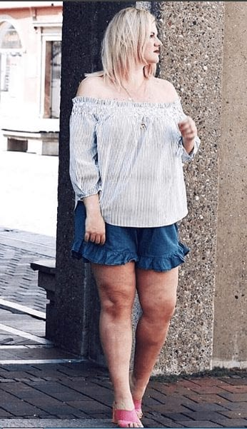 Plus Size Shorts Outfit Ideas for Women