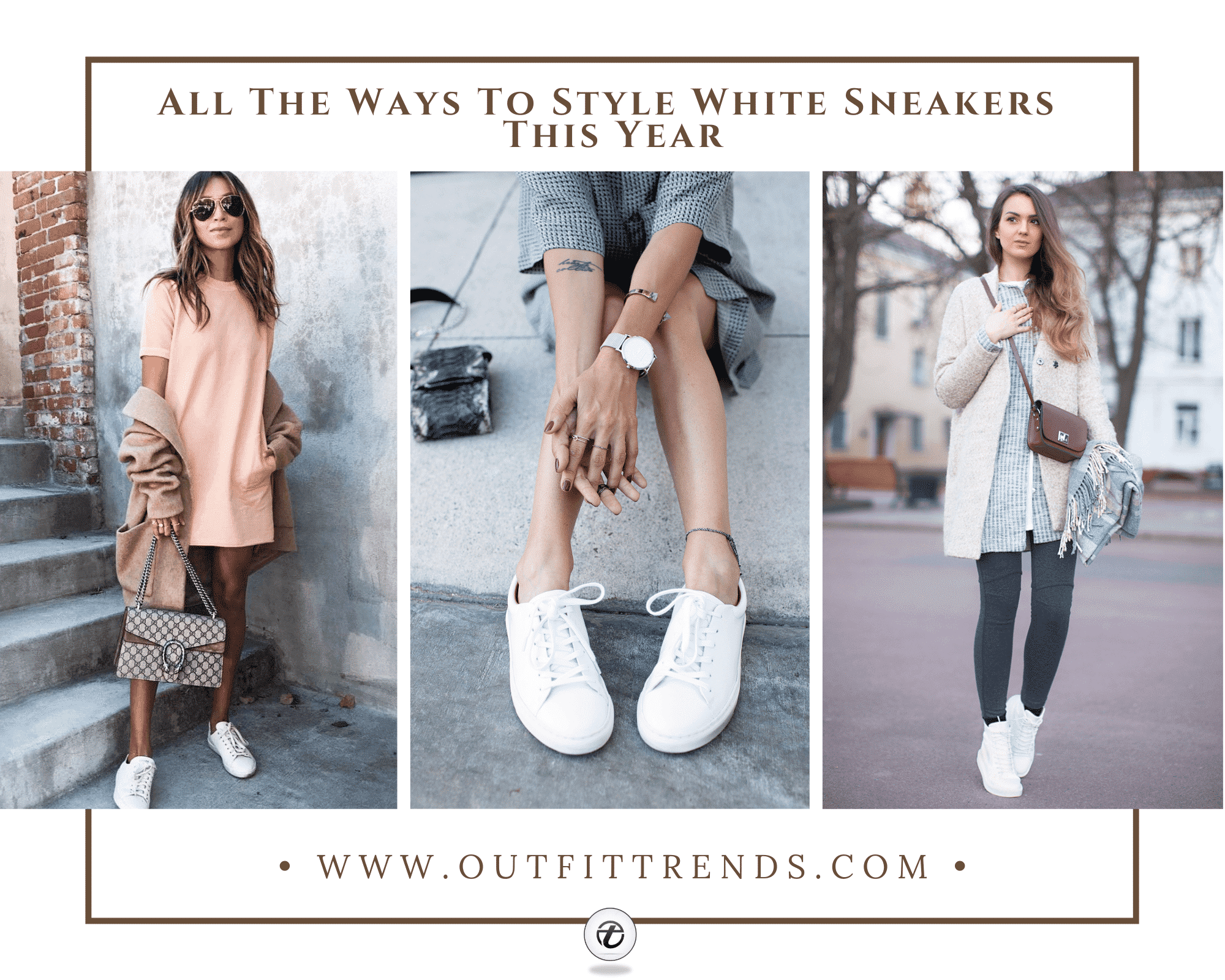 28 Best Womens Outfits to Wear With White Sneakers
