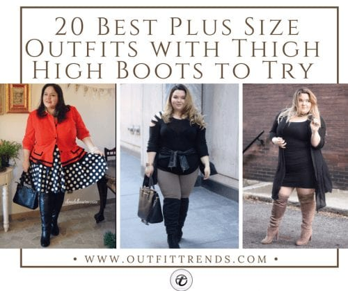 how to wear thigh high boots plus size