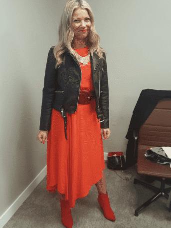 women rock concert outfit