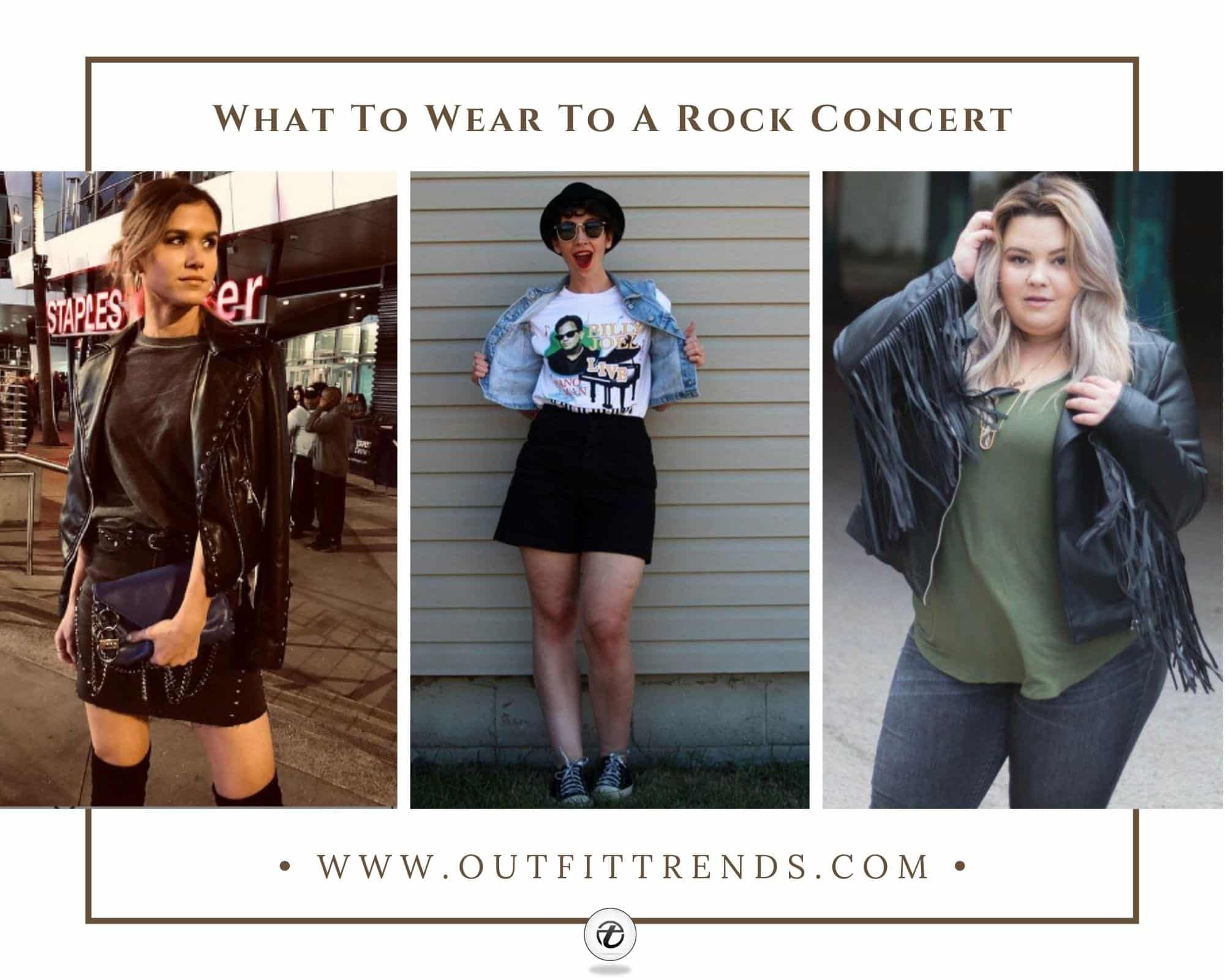 28 Rock Concert Outfit Ideas For Women To Try This Year