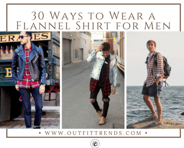 Flannel Shirt Styles for guys