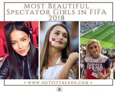 beautiful female fans in Fifa 2018