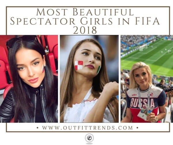 beautiful female fans in Fifa 2018