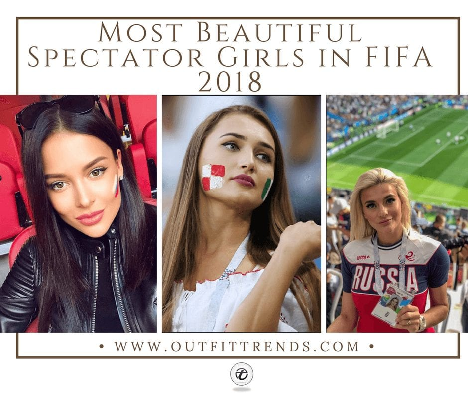 20 Most Hottest Spectator Girls at FIFA 2018