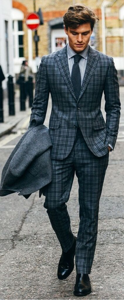 checkered suits
