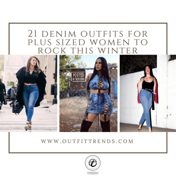 Denim Outfits for Plus Sized Women (23)
