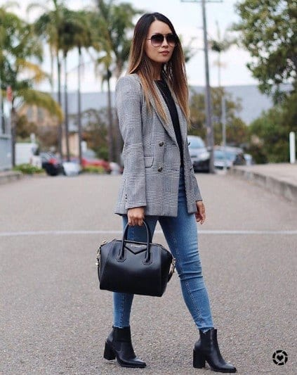 Jeans With Ankle Boots,20 Ways To Wear Denim With Ankle Boots