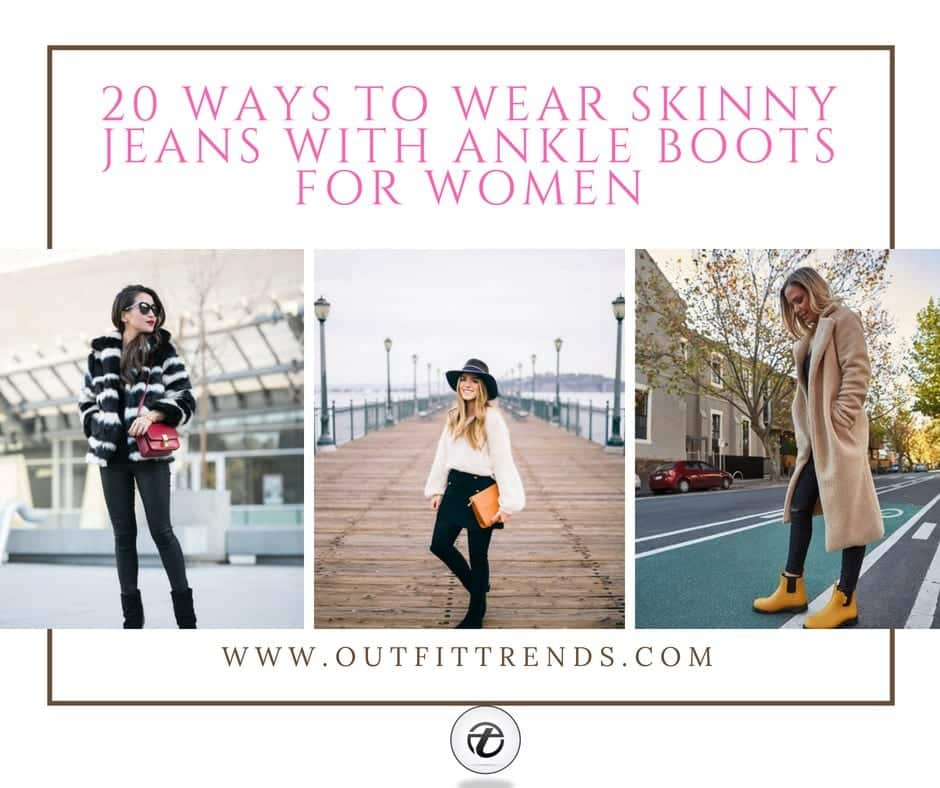 Jeans With Ankle Boots-20 Ways To Wear Denim With Ankle Boots