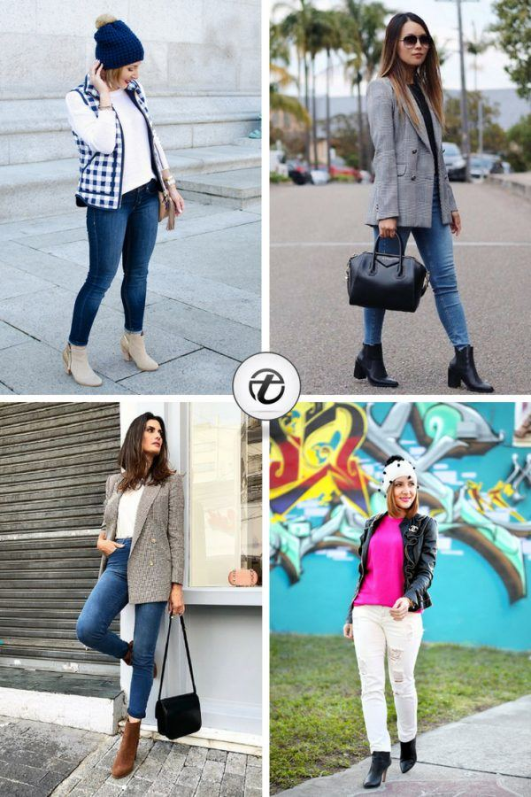ae1b1b5637d76 Jeans With Ankle Boots-20 Ways To Wear Denim With Ankle Boots