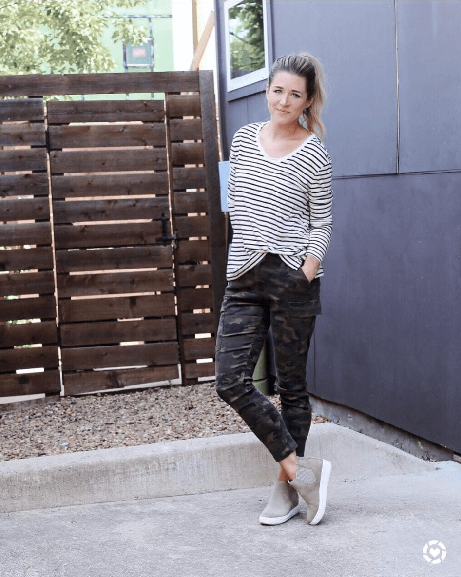 Outfits with Camo Pants-23 Ways To Wear Camo Pants Stylishly picture