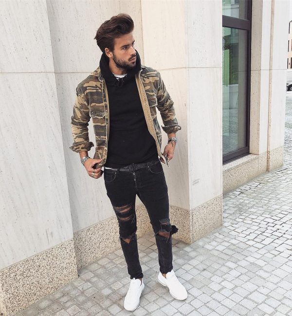 Winter jeans outfits for men (17)