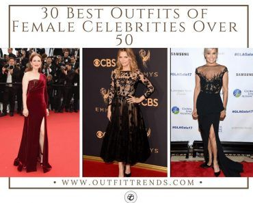 Best female celebrities outfit over 50
