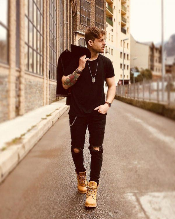 Winter jeans outfits for men (15)