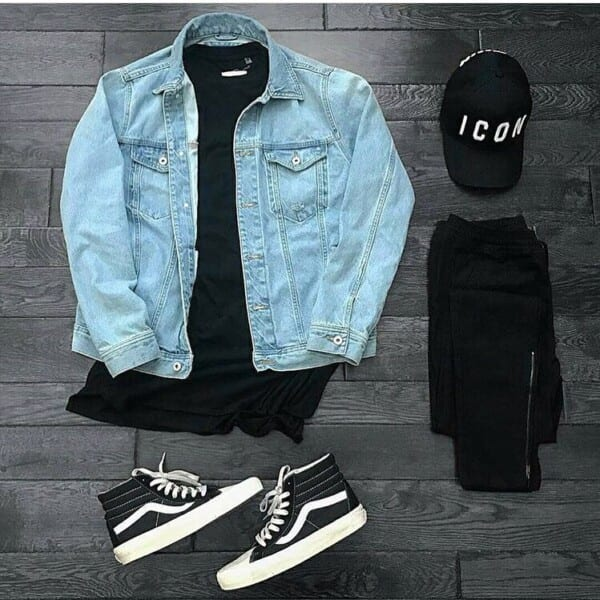 Winter jeans outfits for men (9)