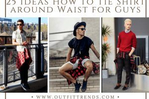 Shirt around waist styles for guys