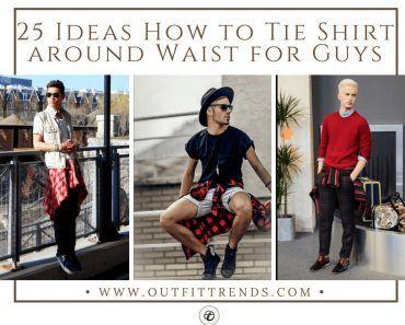 Shirt around waist styles for guys