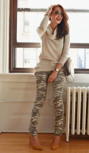 14429e768eb Pointer  Pair with knee-high boots for fashion and function combined. Here  are Ideas on how to wear Patterned Leggings.