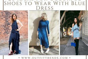 Shoes to Wear With Blue Dress