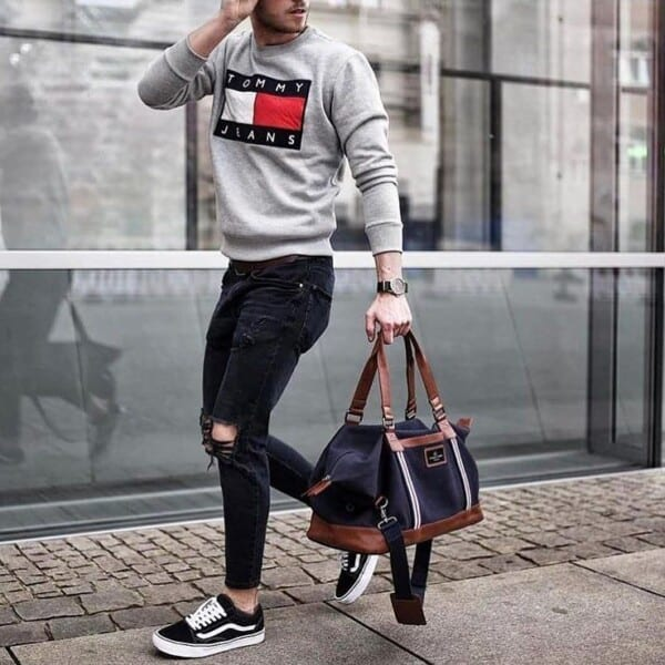 Winter jeans outfits for men (3)