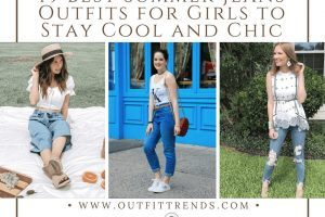 Summer Jeans Outfits for Girls 2018