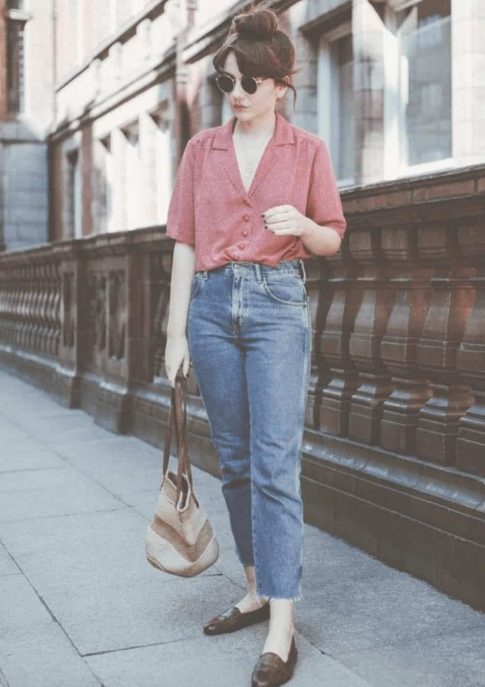 Outfits With Mom Jeans 25 Chic Ideas How To Wear Mom Jeans