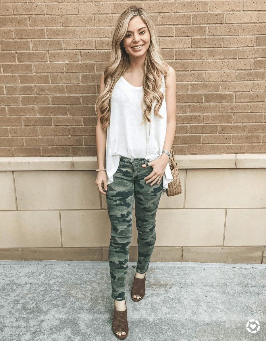 Outfits with Camo Pants-23 Ways To Wear Camo Pants Stylishly forecasting