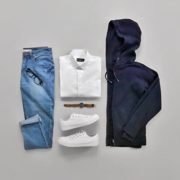 Winter jeans outfits for men (8)