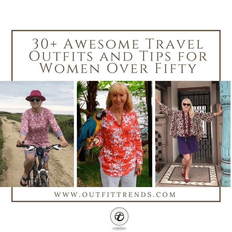 travel outfits for fifty plus women