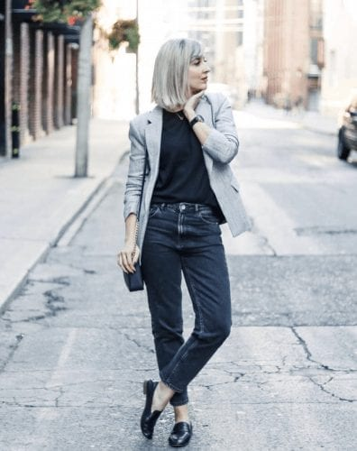 Outfits with Mom Jeans – 25 ways to wear Mom Jeans Fashionably (1)