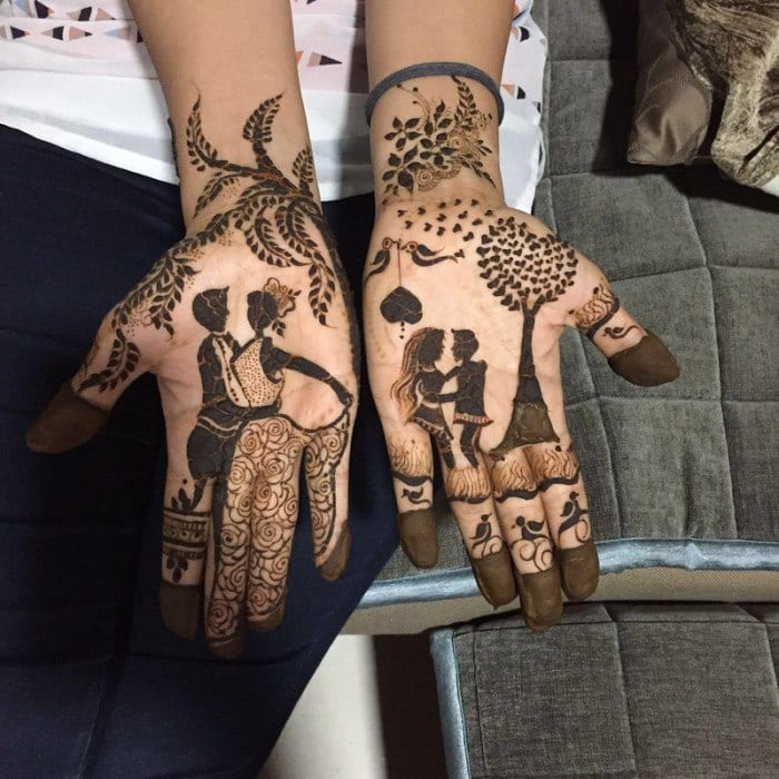 30 Most Weird Mehndi Designs That Are Funny And Cute