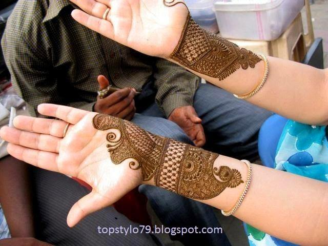 30 Best Bangle Mehndi Designs To Inspire You (19)