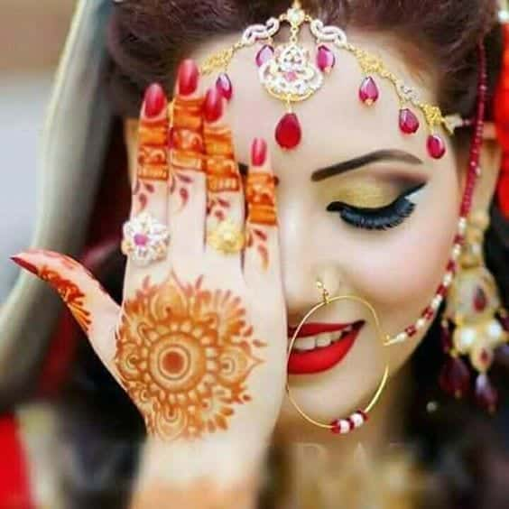 Engagement Mehndi Designs You Should Try (33)