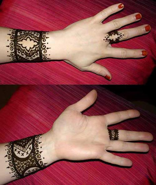 30 Best Bangle Mehndi Designs To Inspire You (13)