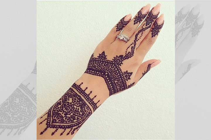 30 Best Bangle Mehndi Designs To Inspire You (11)