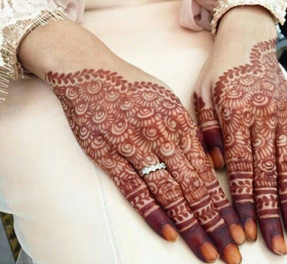 Engagement Mehndi Designs You Should Try (12)
