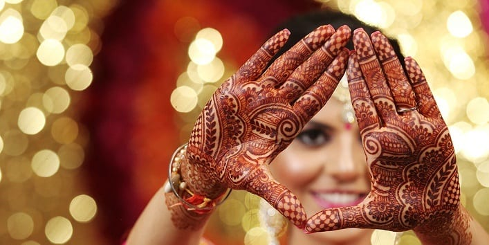 Engagement Mehndi Designs You Should Try (10)